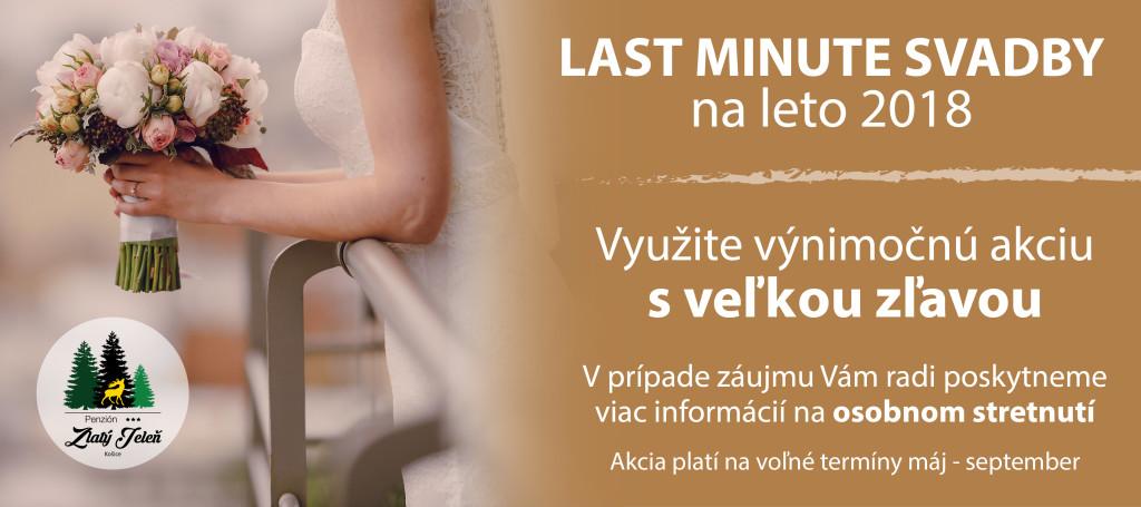 Last minute svadby 2018